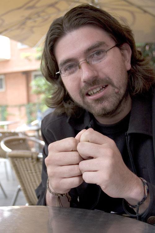 Felipe Salazar er også kjent under navnet Biofilo. Han kjempet med Farc og ble kjæreste med en jente fra Sosialistisk ungdom. Foto: Jota Palacios