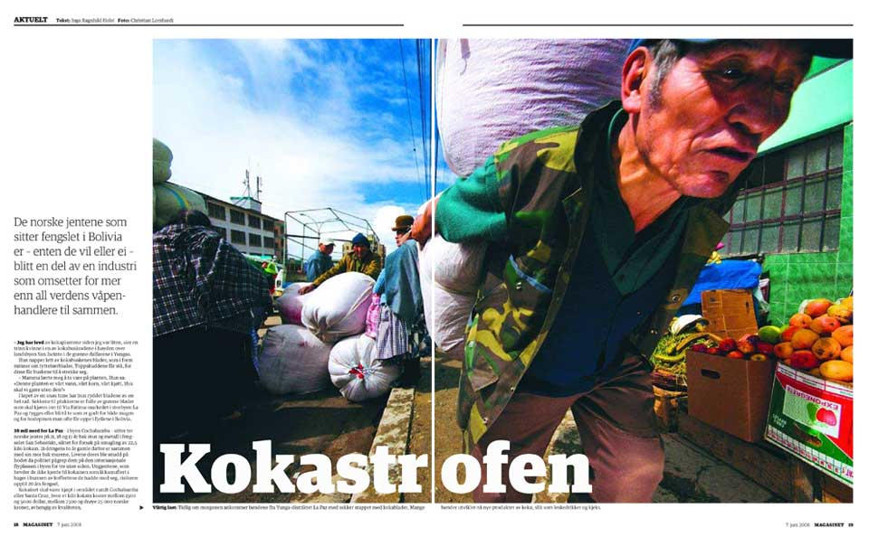 Kokastrofen Bolivia Dagbladet Magasinet.